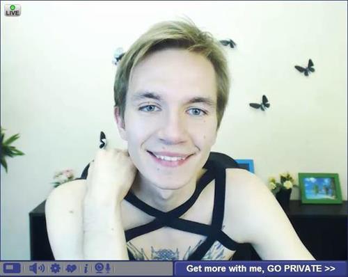 Twink male cam model