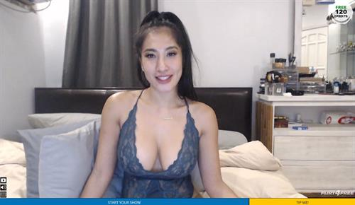 Big breasted Asian cam babe on Flirt4Free.com