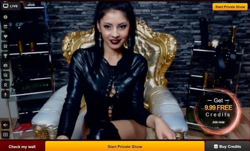 Seductive mistress on cam, LiveJasmin.com