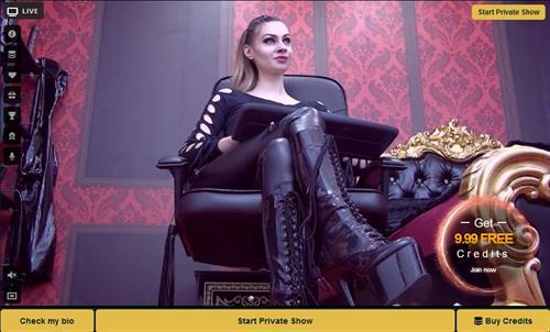 Seductive mistress on MyCams.com