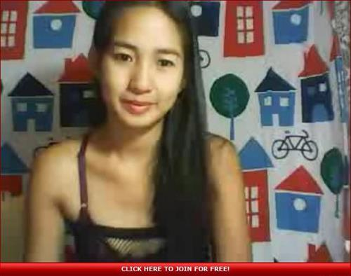 Cute asian webcam model