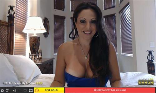 Big breasted mature cam model