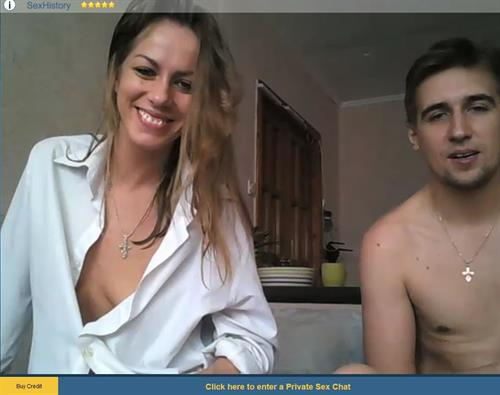 Fun and flirty couple on live webcam chat at Sexier.com