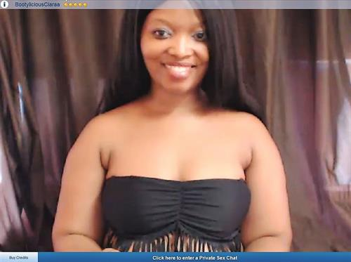 Sexy young ebony chat hostess