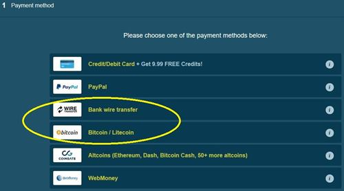 Bitcoin and Altcoins are accepted payment methods on LivePrivates.com
