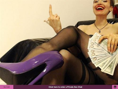 Financial domination over weak men with big wallets on FetishGalaxy.com